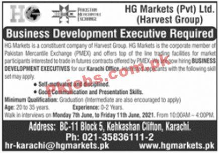Jobs In Hg Markets Pvt Ltd