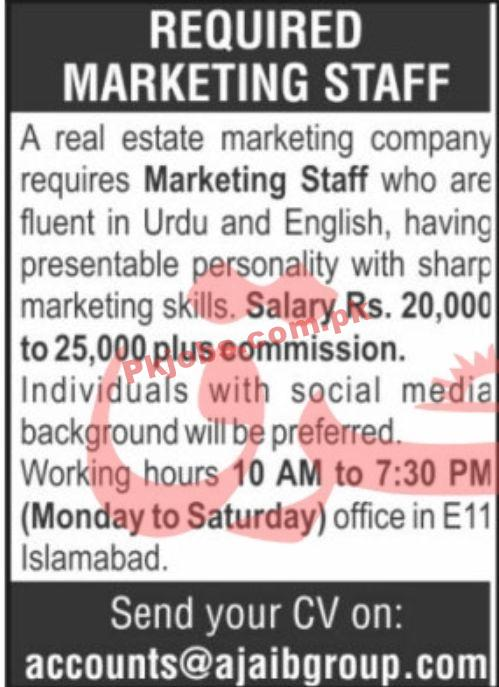 Jobs In Real Estate Marketing Company