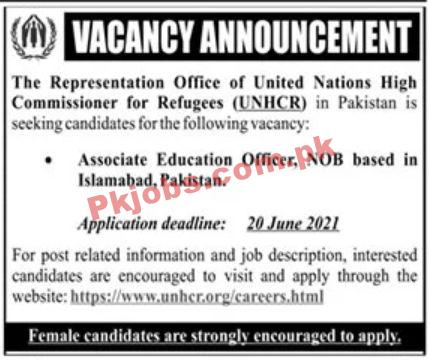 Jobs In United Nations High Commissioner For Refugees Unhcr