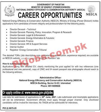 National Energy Efficiency & Conservation Authority Pk Jobs 2021